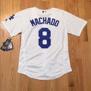 sports shoes e6f48 d8979 Los Angeles Dodgers #8 Machado Jersey NWT